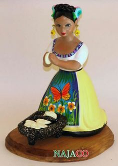 Homemade tortillas. This Lupita doll reminds me of my grandmother.