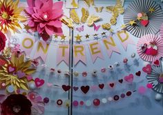Paper flowers and fans and paper flowers at an exhibition.. www.ontrendmarketing.net the link to our Etsy shop is on our website under digital downloads Paper Flowers, Fans, Etsy Shop, Website, Digital, Party, Fiesta Party, Followers, Receptions