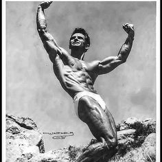 Posing at its best ....Vince gironda understood the beauty of posing it's not about doing a most muscular to look the biggest it's about creating flow and making lines wonder will the classic bodybuilding bring back some old poses here's to hoping ....#oldschoolbodybuilding #goldenera #goldenerabodybuilding #vincesgym #vincegironda #pose #posing #lines #mrolympia #ifbb #getlean #beauty #symmetry #mensphysique #physique #ketogenicdiet #keto by bodysculpter_aaron_