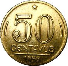 moedas antigas -  Brasil da decada de 40/50