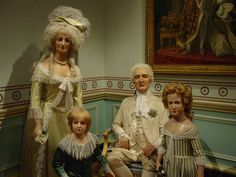 The ill fated Louis VXI and Family - Mme Tussaud's waxwork