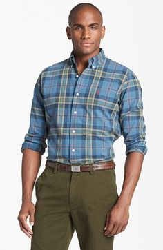 Polo Ralph Lauren Trim Fit Sport Shirt available at #Nordstrom