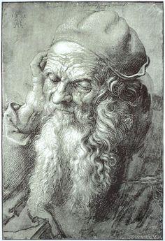 "Albrecht Dürer 1471 – 1528 was a German painter, engraver, printmaker, mathematician, and theorist from Nuremberg. His high-quality woodcuts (nowadays often called Meisterstiche or ""master prints"") established his reputation and influence across Europe. Renaissance, Brush Drawing, Painting & Drawing, Albert Dürer, Portraits, Hieronymus Bosch, Albrecht Durer, Find Art, Art History"