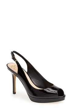 Vince Camuto 'Cavi' Slingback Leather Pump (Women) available at #Nordstrom