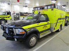 Nikiski Fire Department Medic 3 with Tanker 2 in the background