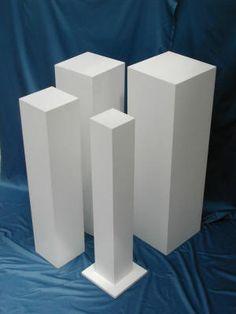 16 best exhibition plinths images display design product display rh pinterest com