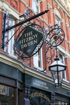 Fitzroy Tavern, Fitzrovia, London