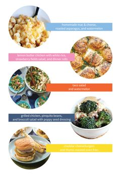 5 Menu Ideas For Fast Fresh Family Friendly Weeknight Dinners