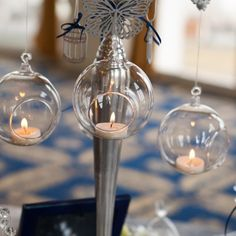 We've long had in mind to use our Winter Fairytale collection in a styled shoot… Candelabra, Event Design, Wedding Designs, Fairytale, Wedding Decorations, Pastel, Hand Painted, Candles, Antiques