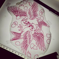 Available to tattoo would be really keen email blackgardentattoo@hotmail.com for enquiries :) @blackgardentattoo @blackngoldlegacy #sparrow #tattoo #fight #sketch #tattooflash #oldlines #blackgardentattoo #blackngoldlegacy