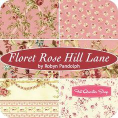 Floret Rose Hill Lane Fat Quarter BundleRobyn Pandolph for RJR Fabrics - Fat Quarter Bundles | Fat Quarter Shop