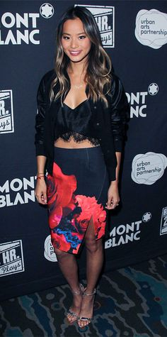 Look of the Day - June 23, 2014 - Jamie Chung from #InStyle