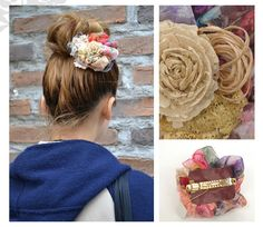 """Flower Valletta of """"CANDY"""". """"CANDY"""" is a brand of handmade accessories in Japan."""