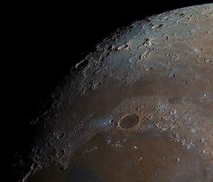 Detail from high-resolution moon photo by Polish photographer Bartosz Wojczyński. (It was stacked together using 32000 separate photos. Do Aliens Exist, Secret Space Program, Galaxy Photos, Planets And Moons, Moon Photos, Man On The Moon, Space Photos, Historical Quotes, Deep Space