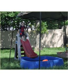 Step 2 Big Splash Center Swimming Pool Slide Rare Hard To Find Discontinued Toys Pools And