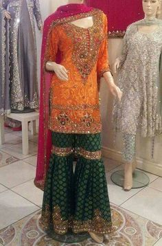 Asian Pakistani Indian Bridal dress tailormade in UK and Europe www.mizznoor.co.uk