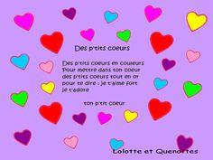 A nursery rhyme for all the little hearts that love little hearts just like me. there is still time to learn a pretty rhyme for Mother's Day and him … Source by cecileagius Mothers Day Songs, Fathers Day, French Lessons, Kids Songs, Mother And Father, Valentine Day Crafts, Nursery Rhymes, Diy Crafts, Grands Parents