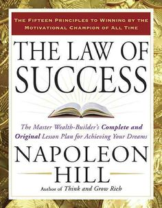 Here is the Holy Grail of success philosophy: Napoleon Hill's complete and original formula to achievement presented in fifteen remarkable principles--now newly designed in a handsome single-volume ed