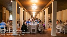The Cellars at Brookpark Farm - Half of the beautiful banquet room!