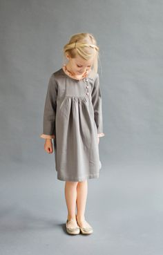 Kerri Dress - Lali Kids Clothing #fairtrade #madeinindia #kidsfashion #cotton