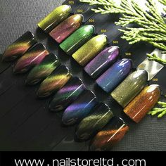 Καταπληκτικά 5D μαγνητικά ημιμονιμα Eggplant, Nail Designs, Vegetables, Nails, Finger Nails, Ongles, Nail Desings, Eggplants, Vegetable Recipes