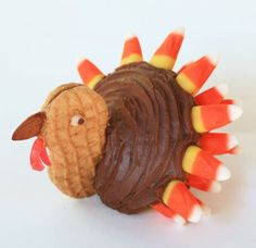 Post image for Thanksgiving Turkey Cupcakes