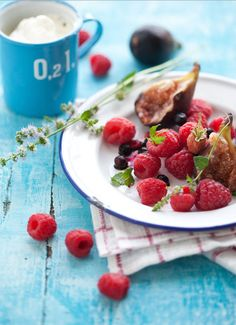 Raspberries and Figs | Cannelle et Vanille