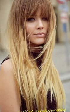 Blonde hairstyles with fringe 2017 - http://trend-hairstyles.ru/1190.html…