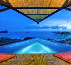 Swim over the Costa Rican rainforest