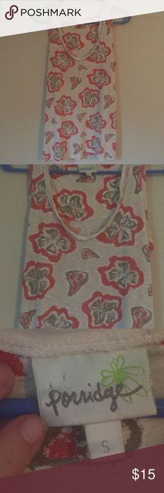 Porridge patterned tank Size small and in perfect condition. Anthropologie Tops Tank Tops