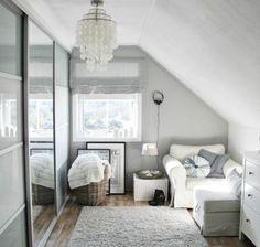 Dachgeschoss einrichten - Wohnung mit Charme, die doch eine Interieur Herausforderung ist.Auf dem Dach zu wohnen, kann attraktiv erscheinen, nicht aber ....