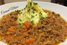 Classic Curried Mince |