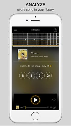 PLAYER is a revolutionary new app that re-imagines your music collection. It works as a musicians music player, and also analyzes every song in your library so you can play along to them.