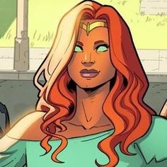 Teen Titans Starfire, Starfire And Raven, Nightwing And Starfire, Marvel Characters, Female Characters, Bikini Violet, Talia Al Ghul, Comics Girls, Young Justice