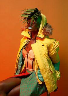 Fashion photographs from Swiss photographer Namsa Leuba