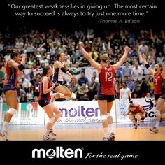 Volleyball #Motivation! -with USA Volleyball