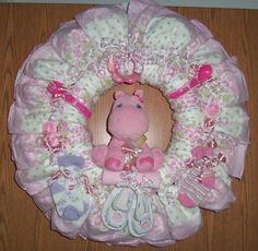 Diaper Wreaths.
