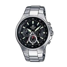 acfe9a47ae5e Casio  EF562D-1AV Mens Black Dial Edifice Series 100M Sports Chronograph Watch  Casio Watch