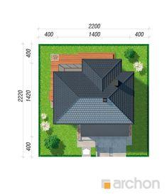 Projekt domu Willa Miranda 4 (G2) - ARCHON+ Micro House, Villa, Home, Fork, Villas