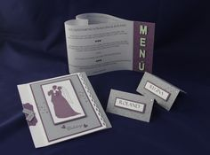 Hochzeitspapeterie - Brauttanz - Handgefertigt mit viel Liebe zum Detail.  Verwendete Materialien alle von Stampin´Up!