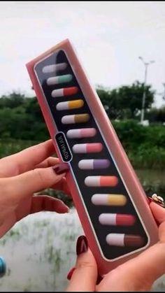 Matte Lip Gloss, Matte Lips, Lip Gloss Set, Mini Makeup, Cute Makeup, Ac New Leaf, Lipstick Set, Lipstick Style, Cool Gadgets To Buy