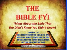 Principles Class Pt 12 - 'The Sacrifice of Christ' - Basic understanding of the Bible Note: Comments with links to other videos or websites will be remov. First Principle, Understanding The Bible, Bible Truth, Christ, Prayers, Words, Baptisms, 1st Century, Gods Plan