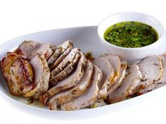 Herb-Roasted Pork Loin with Gremolata Recipe | Giada De Laurentiis | Food Network