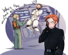 """The thing is, Hux would definitely know who's friggin """"Matt""""."""