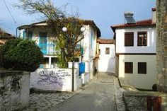 Varoussi old town of Trikals town, Prefecture of Trikala, Thessaly, Greece Old Town, Greece, Mansions, House Styles, Memories, Home Decor, Old City, Greece Country, Memoirs