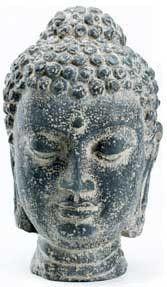 "Buddha Head 11 1-4"""