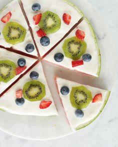 Watermelon Fruit Pizza