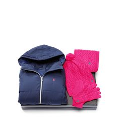 Pink Cold Weather 4-Piece Set