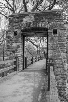 Hoyt Park Suspension Bridge