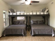 Is Worried About Lakehouse Decor, Lake Cottages, Guest Rooms And Why You Should Pay Attention 104 - free homeidea. Bedroom Decor, House Design, Lakehouse Decor, Bunk Beds With Stairs, Home, Bed, Small Bedroom, Bed Design, Bunk Rooms